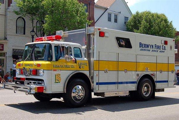Berwyn Fire Company Chester County Pennsylvania