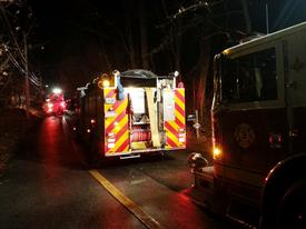 Engine 3-5 (Paoli) and Engine (2-2) were staged on Berwyn Baptist Rd.