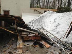 Structural collapses are very dangerous to victims and first respondes due to exposed nails, broken wood, secondary collapses, and many other hazards.