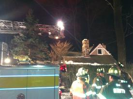 Engine 2-3 and Tower 2 responded to assist the Radnor Fire Company at this house fire in Radnor Twp.