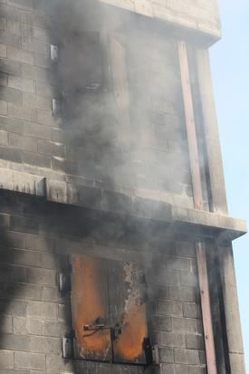 The first arriving officer must do a quick walk around the structure to identify the location of the fire and other potential dangers to the crew.  It takes years of training and experience to be able to take what you see and develop an attack plan in just seconds.