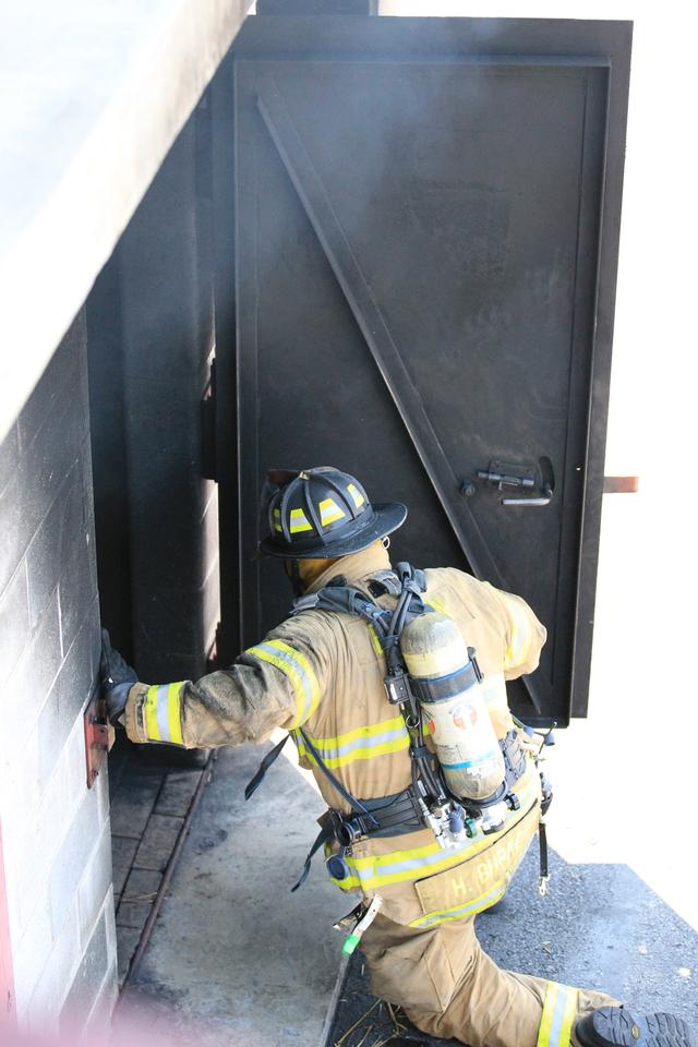 The first in crew must make entry into the structure in order to locate the fire and search for potential victims.  Firefighters must be proficient in gaining entry through all types of doors and locks using many different tools.  Firefighters must also be proficient in searching for trapped occupants - seconds count!