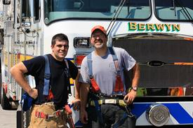 Thanks again to FF/Photographer Brad Remick (right) for joining the group.  FF Remick chose a day where temperatures approached 100 degrees (outside) and provided us with great photos!  We look forward to seeing Brad again in 2013!