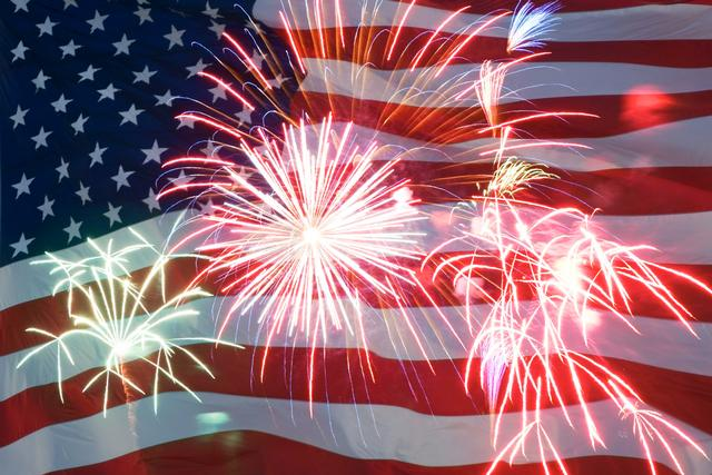 About 2 in 5 fires started by fireworks each year, are reported on Independence Day.