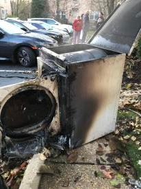According to the United States Fire Administration, 2,900 home clothes dryer fires are reported each year and cause an estimated 5 deaths, 100 injuries, and $35 million in property loss.