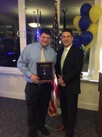 Scott Kramer was recognized for 15 years of volunteer service.