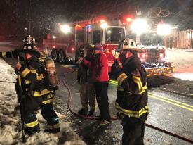 Firefighters from Radnor and Paoli assisted at the scene.
