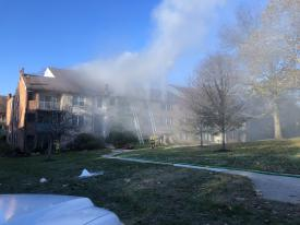 The Chester County Fire Marshal's Office investigated and ruled the fire accidental. The total fire loss is estimated at $300,000.