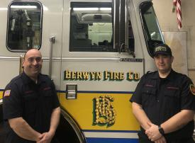 Chief Engineer Gregory Zarcone and Deputy Chief Engineer Thomas E. Brown, Jr. assumed their new roles earlier this month.