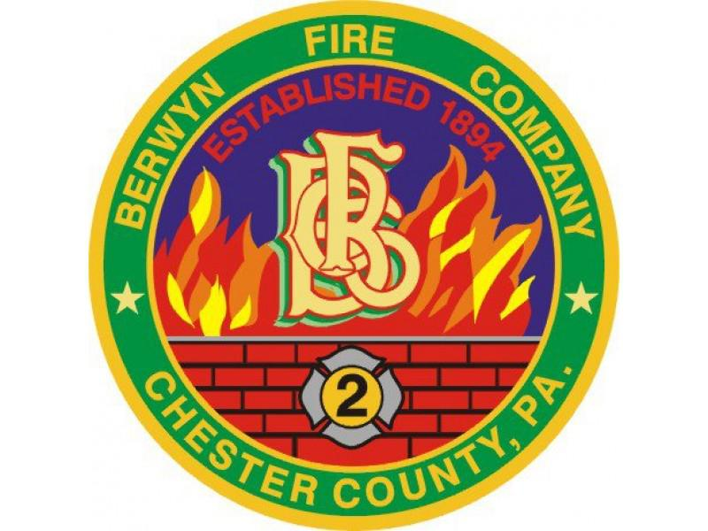 The Berwyn Fire Company Annual Fire Fund Drive is underway in the Tredyffrin-Easttown community!