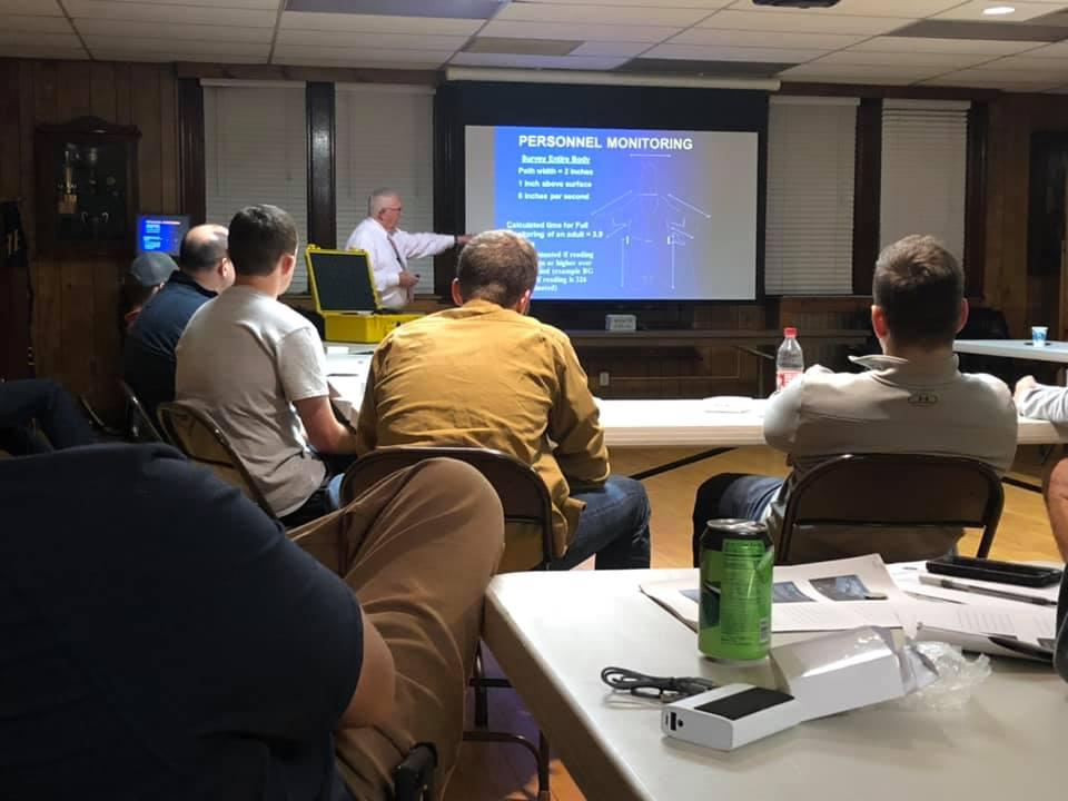 Berwyn fire/EMS providers attending a training session on October 14th in preparation for the October 23rd exercise.