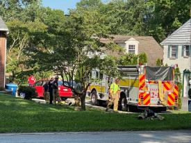 On Tuesday, July 21st, the Berwyn Fire Company was dispatched to a house fire in the 1400 block of Valley Forge Rd. in Tredyffrin Township.