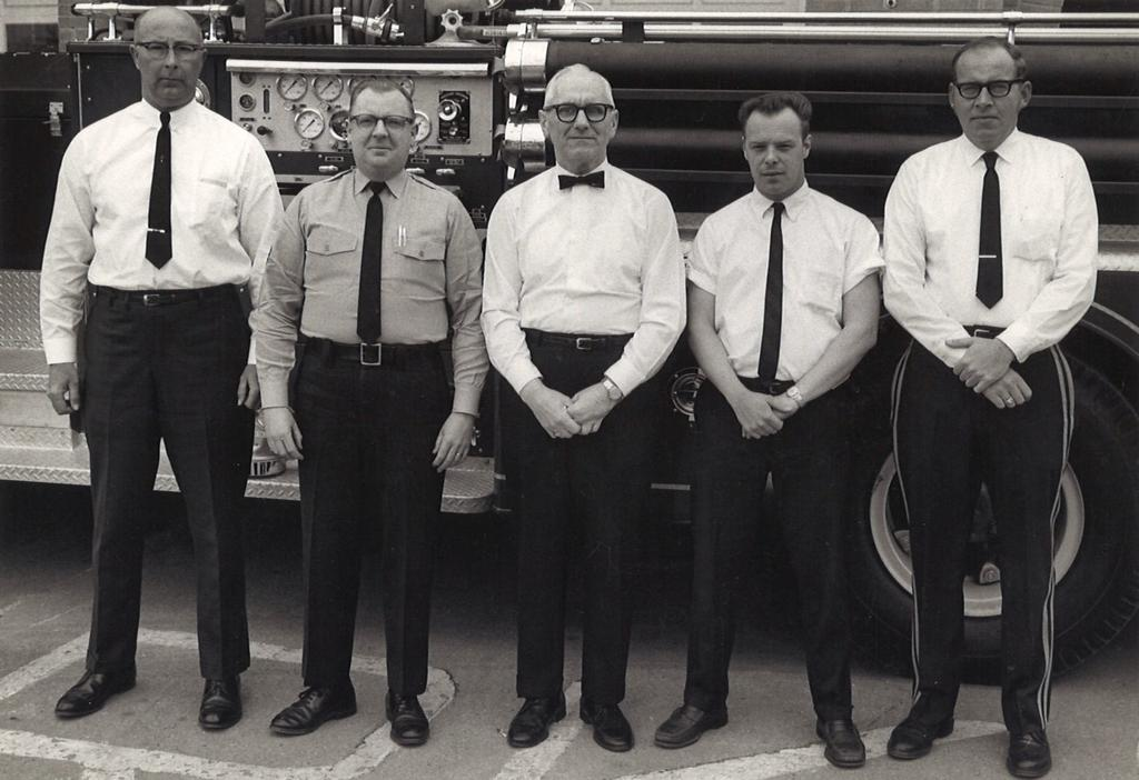 (L-R) Bill Butler, John Stillwell, Larry Adams, Chipp Pyott & Bob Lewis