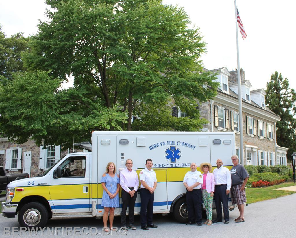 In order to provide improved response times to the residents of Chesterbrook, Glenhardie and the Swedesford Corridor, in 2019 we set-up an EMS substation by renting a vacant apartment in Old Forge Crossing. It demonstrated great improvement in response times and patient outcomes.